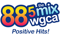 WGCA Logo - 88.5 The Mix - Quincy Christian Radio Station
