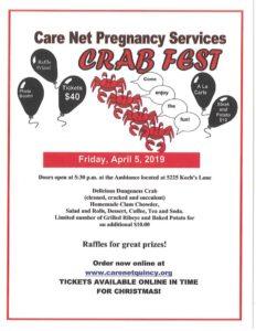 CrabFest Flyer - Quincy IL