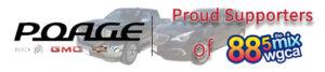 Poage Auto Plaza - Proud Supporter of 88.5 The Mix WGCA