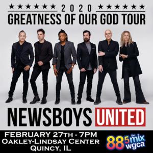 Newsboys United Quincy IL