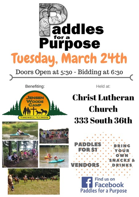 Paddles for a Purpose