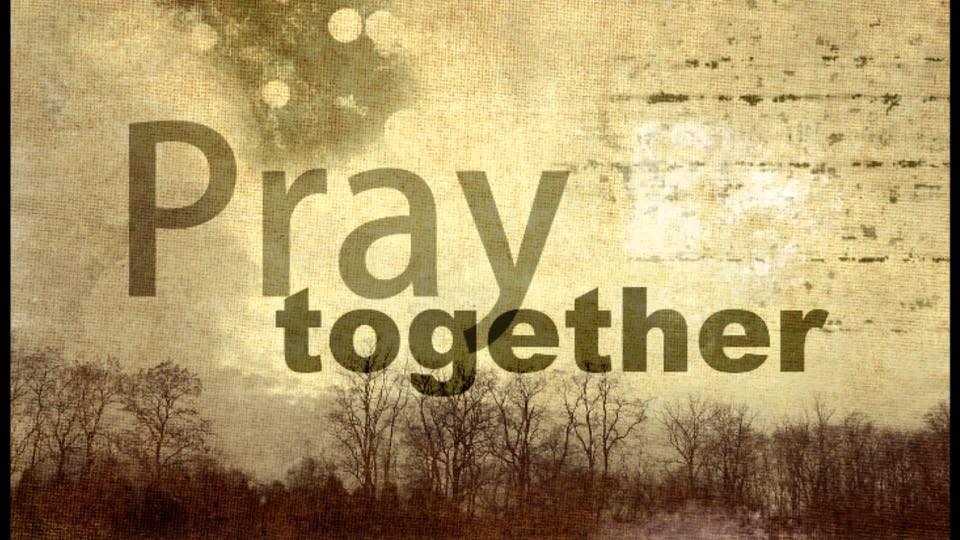 Pray together Image